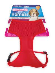 Comfortable Dog Ancol Simply Comfortable Mesh Dog Harness Black M 44 57cm Amazon