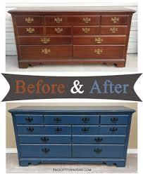 dressers before u0026 after facelift furniture