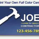 print your own business cards full color business cards template
