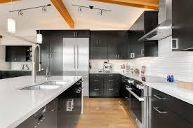 white kitchen cabinets and black quartz countertops white quartz countertops my ideal home