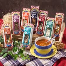 Soup Gift Baskets Amazon Com 7 Soup Sampler Gourmet Gift Set Gourmet Snacks And