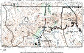 denali national park map denali national park zone 28 n2backpacking com