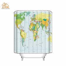 Cheap Home Decor Fabric by Online Get Cheap Educational Shower Curtains Aliexpress Com
