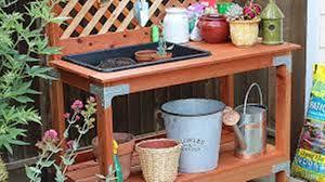 outdoor potting table unique my journey
