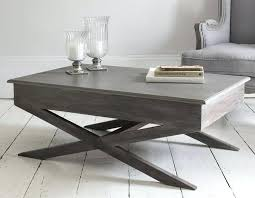 light grey coffee table modern gray wood coffee table in grey tables fieldofscreams plans 5