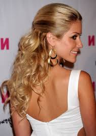 half updo hairstyles for long hair half up half down wedding