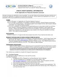 physician assistant resumes examples resume examples medical