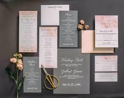 customized wedding invitations gorgeous invitation suite wedding rosebud suite rustic letterpress