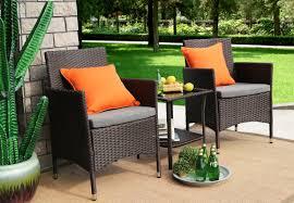 baner garden 3 piece dining set with cushions u0026 reviews wayfair