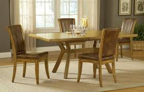 dining room chairs with wheels hillsdale grand bay rectangle dining set with caster chair oak