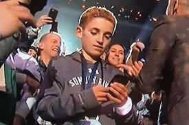 Superbowl Meme - the super bowl phone kid has become an instant meme