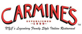 carmine s family style lunch in times square new york city