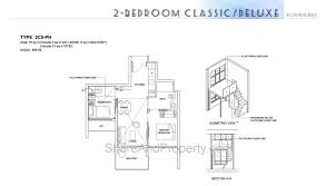 2 Bedroom Condo Floor Plans High Park Residences Floor Plan 2 Bedroom Classic Condo Singapore