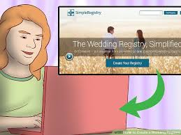 create a wedding registry 3 ways to create a wedding registry wikihow