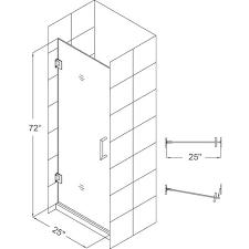 Standard Shower Door Sizes Shower Sizes Project Shower Base Specifications Corner Shower