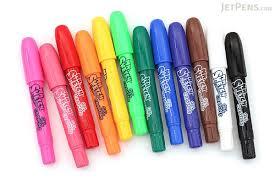 mr sketch scented twistable gel crayons 12 color set jetpens com