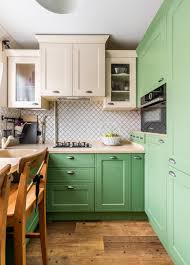 green lower white kitchen cabinets 75 beautiful kitchen with green cabinets pictures ideas