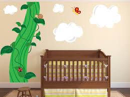 Custom Nursery Wall Decals Nursery Wall Decals And The Beanstalk Wall Decals