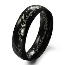 rings of men buy 3aries fashion titanium stainless steel black lord ring