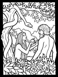 coloring pages adam and eve bible coloring pages for kids adam and eve coloring pages for