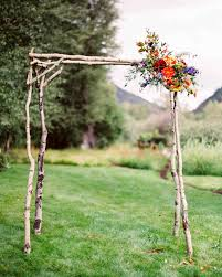 wedding arches made of branches 10 wedding ideas that don t involve pastels and tulips