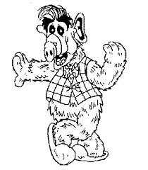 Alf Coloring Pages 80s Cartoons Colouring Pages Pinterest 80s Coloring Pages