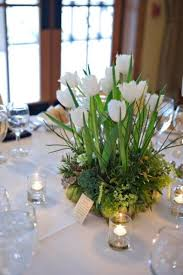 homemade wedding centerpieces spring tulips diy flowers