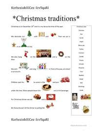 11 free esl traditions worksheets