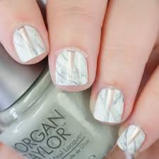 more marble nails and a dreamy copper nail polish the