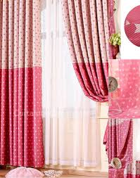 pink curtains the best for your window treatments curtain decor