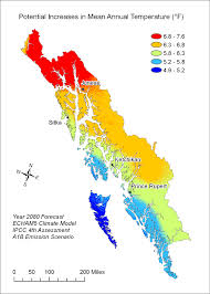 Sitka Alaska Map by Climate Change Could Affect Southeast Salmon Habitat Alaska