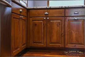 dublin knotty alder kitchen with glaze finish the ohio cabinet maker