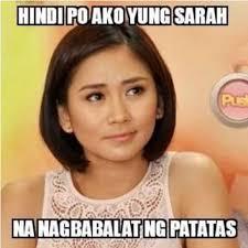 Meme Photos Tagalog - top princess sarah and her patatas memes when in manila