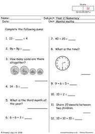 primaryleap co uk mental maths 2 worksheet