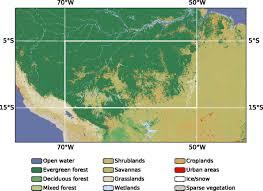 Amazon Rainforest Map Climate Change U0026 Anthropocene Extinction 20 Amazon Tree
