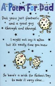 a poem for dad happy father u0027s day card cards love kates