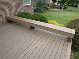 Decks With Benches Built In Bench Benches For Decks Best Decks Images Deck Benches Decking