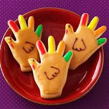 handprint turkey cookies recipe taste of home