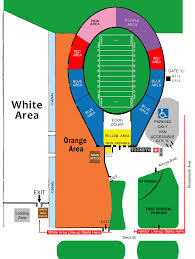Rose State College Map by Rose Bowl