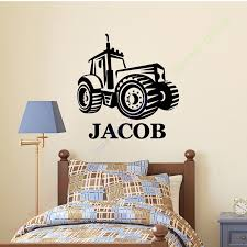 Personalised Duvet Covers Aliexpress Com Buy Farm Tractor Personalised Any Name Decor