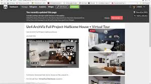 ue4 three full archviz scene with step by step video download
