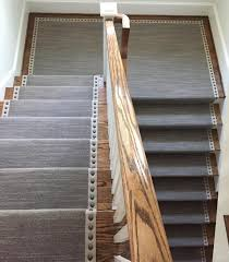 mnailheads add an elegance to this stair runner and edge regram