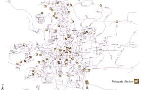 Pullman Washington Map by Petwaste Management