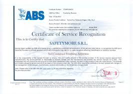 bureau of shipping abs certificates safety more