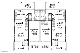 duplex floor plans for narrow lots duplex floor plans for narrow lots awesome multi family house