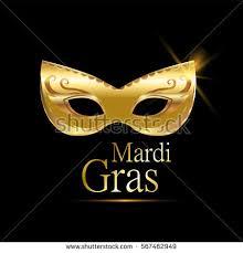 mardi gras golden carnival mask ornaments stock vector 567535231