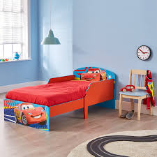 new disney pixar cars lightning mcqueen toddler bed suits most