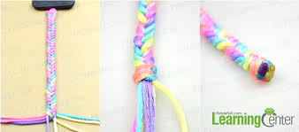 make bracelet with string images How to make easy rainbow string bracelet quickly in five minutes jpg