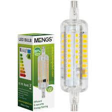 energy saving flood light bulb mengsled mengs r7s 5w j78 led flood light 60x 2835 smd led l