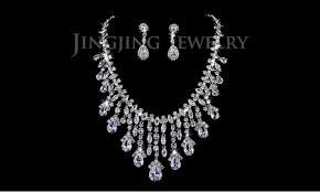 original diamond drop luxurious ultra big pear shaped sparkling cz diamond drop bridal